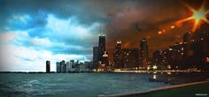 In Chicago, photographer captures both day and night