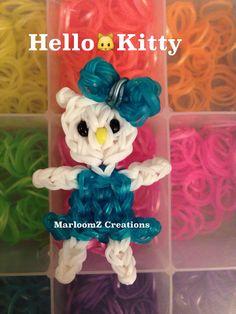 Rainbow Loom Hello Kitty Blue Dress