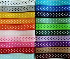 Hey, I found this really awesome Etsy listing at https://www.etsy.com/listing/62450570/20-yards-swiss-dots-38-grosgrain-ribbons