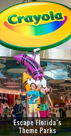 You came to Orlando, Florida for Disney. You did LEGOLAND, Universal Studios and now you need a little down time. Crayola Experience is just what you're looking for. | FAMILY TRAVEL | TRAVEL WITH BENDER IN FLORIDA |