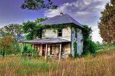 abandoned house WV
