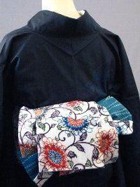 半巾帯の結び方 素敵な帯結び その10 ■しだれ結び