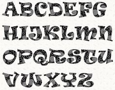 8 Best Images of Printable Letters In Different Fonts - Cool Font Graffiti Alphabet Letters, Alphabet Different Lettering Styles Fonts and Different Fonts Alphabet Letters Free Printable Letter Stencils, Letter Templates Free, Alphabet Templates, Alphabet Stencils, Printable Letters, Bunny Templates, Stencil Lettering, Doodle Lettering, Creative Lettering