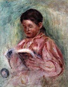 Pierre-Auguste Renoir - Woman Reading