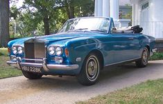 1971 Rolls Royce Corniche Convertible
