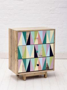 Triangle Pattern Cabinet.  http://obus.com.au/