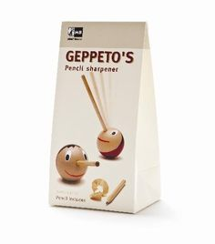 Geppeto's pencil sharpener & pencil  De leukste puntenslijper!