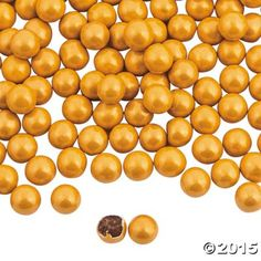 Gold Chocolate Candies - OrientalTrading.com 9.25