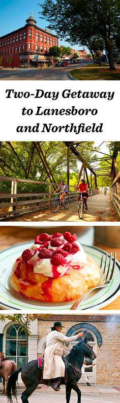 Bike trails and B-and-Bs only begin to define the sweet pleasures in the Minnesota cities of Lanesboro and Northfield: http://www.midwestliving.com/travel/minnesota/two-day-getaway-to-lanesboro-and-northfield/ #lanesboro #northfield #minnesota