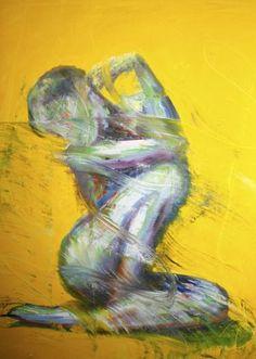 "Saatchi Art Artist OP Freuler; Painting, """"The Self of Awakening"""" #art"