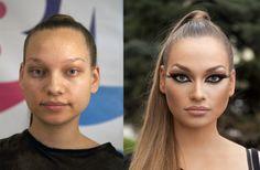 Was MakeUp ausmachen kann......
