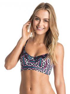 Bikini Venice Beach Bandeau bunt C Cup Gr 36 38