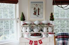 Kate's Place: Decorating The Dry Sink For Christmas