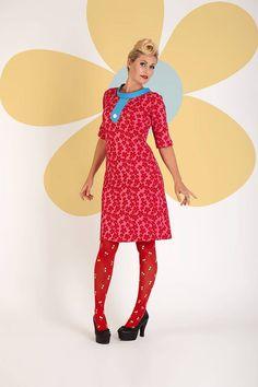 Buy your new dress on newdress.dk Margot dress: Francis Flowerpop Spring 2016 #newdress_dk #vintagedress #retrodress