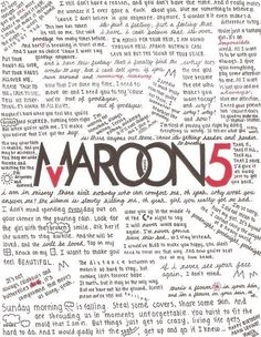 "Maroon 5 -- Been a fan since ""Songs About Jane"" <3"