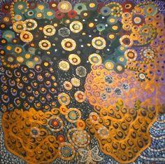 "Saatchi Art Artist Patricia del Monaco; Painting, ""Il Paese che ... vorrei"" #art"