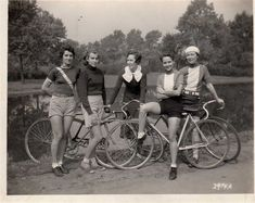 The bicycle will accomplish more for women's sensible dress than all the reform movements that have ever been waged.  ~ Author Unknown, from Demerarest's Family Magazine, 1895  Also a link to very long list of women's cycle gear