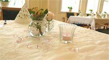 Pynte bord til konfirmasjon. Hvordan planlegge konfirmasjon. Tips og ideer til konfirmasjon.