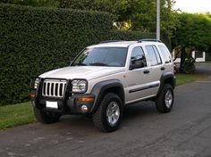 jeep liberty with off road package