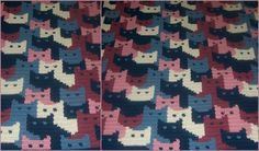 Cats Afghan by Sandra Miller Maxfield will bring attention of every kid and cat lover around. This blanket will also be an eye-catching addition to any children room. A cute cats will be also perfect idea for baby blanket or stroller blanket for spring.
