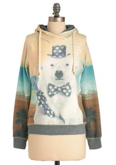 Reverse Polarity sweatshirt.