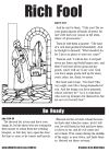 the rich fool coloring page - the rich fool colouring google search bible resources