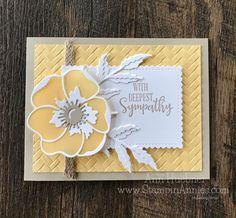 60th Birthday Invitations, Birthday Cards, Poppy Cards, Stampin Up Catalog, Card Making Tutorials, Stamping Up Cards, Get Well Cards, Sympathy Cards, Card Kit