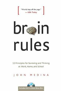 Brain Rules: 12 Principles for Surviving and Thriving at Work, Home, and School by John Medina, http://www.amazon.com/dp/B0041KLCH0/ref=cm_sw_r_pi_dp_4.yaqb1TQW16S