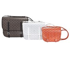 The Belvedere collection from Goyard