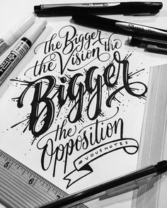 Dream a little bigger. Type by @friks84 | #typegang if you would like to be…