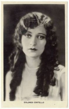 Dolores Costello - 1920's hair style for long hair
