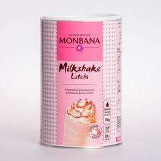 Monbana Litchi Milkshake Frappe