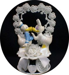 Hey, I found this really awesome Etsy listing at https://www.etsy.com/listing/195880931/disney-donald-groom-dasiy-duck-wedding