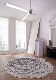 scribble rug
