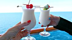 The cure for the mid-week blues? Another round of piña coladas.