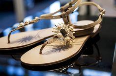 #guilherminashoes #flat #cristaltrend #summer2014  Blog da Laporte - Moda | Laporte Calçados