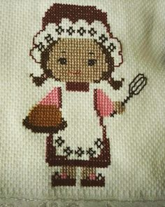 This Pin was discovered by Hic Easy Cross Stitch Patterns, Cross Stitch Borders, Simple Cross Stitch, Cross Stitch Charts, Cross Stitch Designs, Cross Stitching, Hand Embroidery Videos, Wool Embroidery, Applique Embroidery Designs