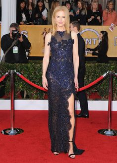 Nicole Kidman, en un look de Vivienne Westwood, en la edición 19a de los premios Screen Actor Guild, en Los Angeles, California el 27 de enero de 2013 SAG Awards 2013