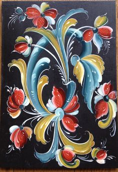 "More flowing rosemaling design ideas for felting.....Telemark style Check out my ""Beautiful Art of all kinds"" board."