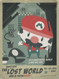 Mario Bros 4 - by Danvinci