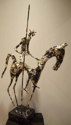 Awesome Unique Sculptures of Metal and Paper by Jean-François Glabik [ 70 Sculptures] • Photo Vide