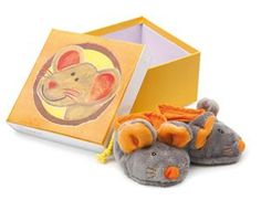 CHILDRENS SLIPPERS MOUSE by Egmont