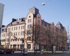 Jugendstil Wasaborg house in Vaasa, Finland Scandinavian Countries, My Heritage, West Coast, Denmark, Norway, Sweden, Art Nouveau, Roots, Houses