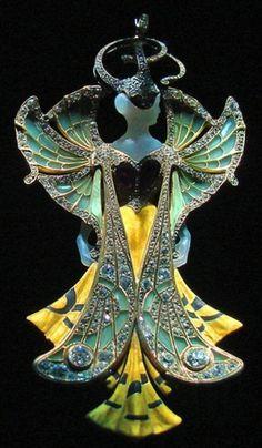 Art Nouveau Jewelry By Georges Fouquet, Paris.