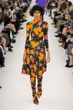 While florals are a staple, the way designers approach the print is where the realstory lays. For Spring, that means big, bold, graphic andcolorful from the runways of Balenciaga, Gucci and more—think Slim Aarons for the Insta-generation. Pictured:Balenciaga