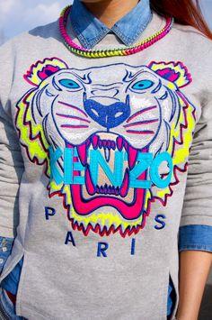 #kenzo #tiger