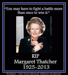 "Margaret Thatcher (October 1925 –April 2013)a British politician who was the Prime Minister of the United Kingdom from 1979 to 1990 and the Leader of the Conservative Party from 1975 to 1990. The longest-serving British Prime Minister of the 20th century and is the only woman to have held the office. A Soviet journalist called her the ""Iron Lady"", a nickname that became associated with her uncompromising politics and leadership style."