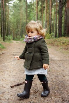 So Cute and Chic in her little jacket