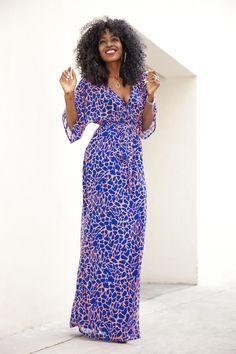 Kimono Style Maxi