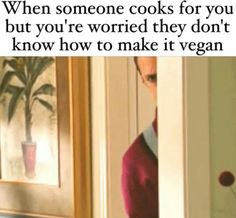 Lol #VeganTrustIssues